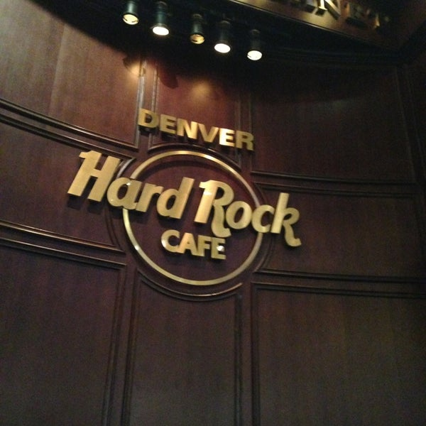 Hard Rock Cafe Denver Colorado Menu