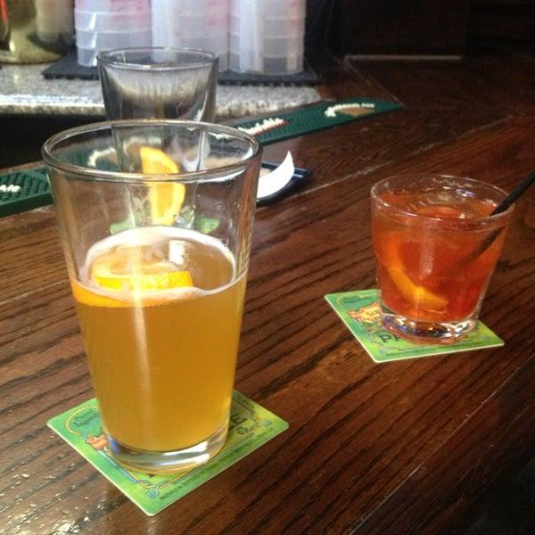 Photo taken at Blarney Stone Bar & Restaurant by Jared G. on 3/11/2013