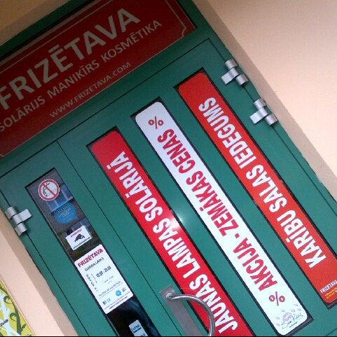 Photo taken at Frizetava.com - skaistuma studija, solārijs un kafejnīca by Coza N. on 11/8/2012