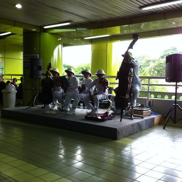 Photo taken at Stasiun Gambir by Ainy P. on 1/24/2013