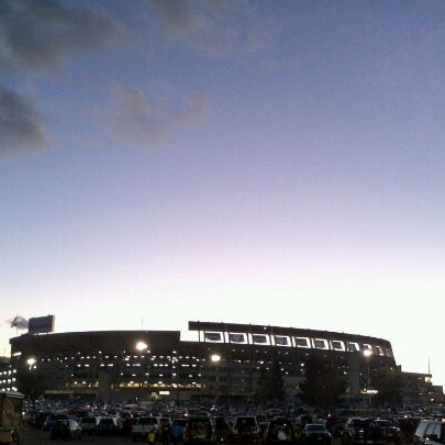 Photo taken at Qualcomm Stadium by Marcos V. on 12/28/2012