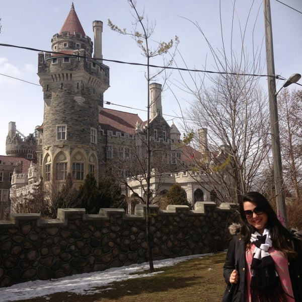 Photo taken at Casa Loma by Carolina H. on 3/24/2013