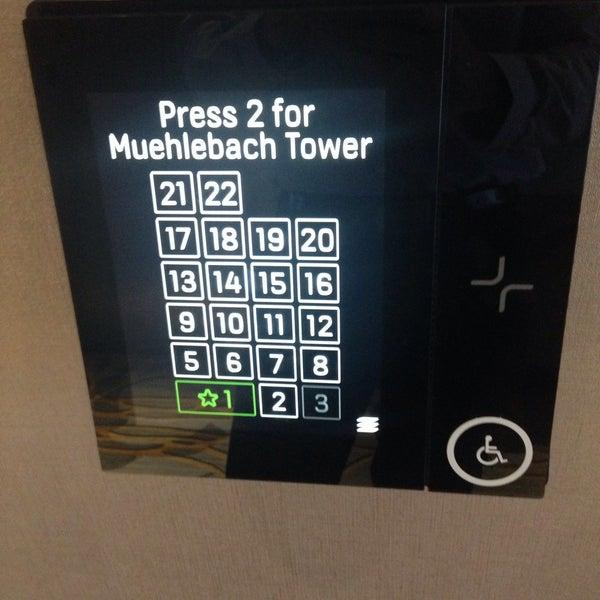 Photo taken at Marriott Muehlbach Tower by Benjamin N. on 9/22/2015