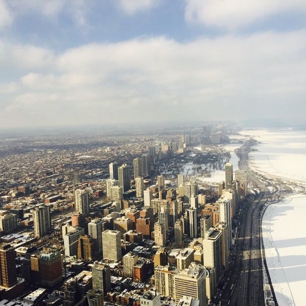 Photo taken at John Hancock Center by Cayla C. on 3/1/2015