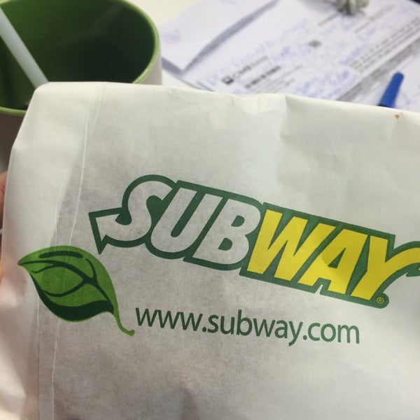 Photo taken at Subway by Tata T. on 7/23/2014