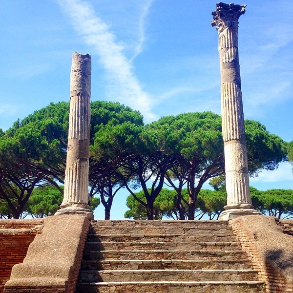 Photo taken at Ostia by Anna P. on 8/11/2014
