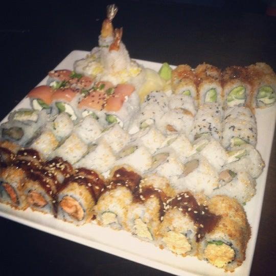 Photo taken at Blue Sushi Sake Grill by Christen on 11/15/2012