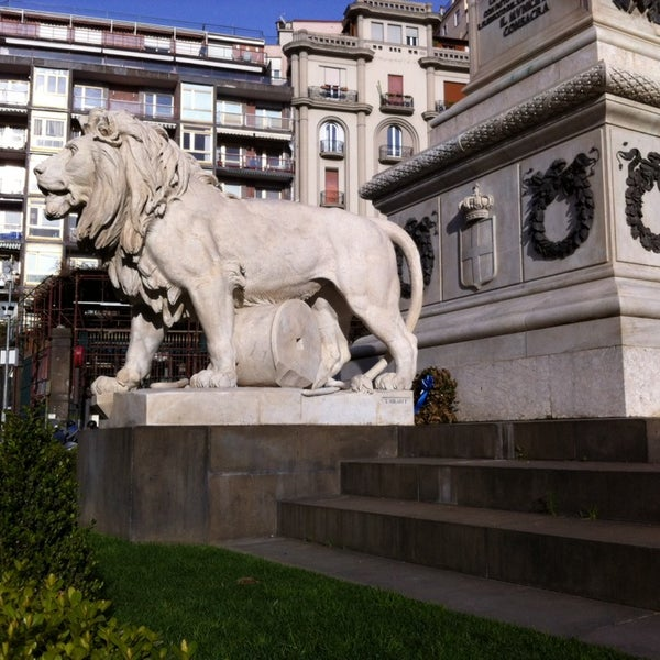 Photo taken at Piazza dei Martiri by Antonio M. on 2/26/2014