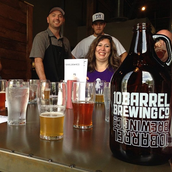 Photo taken at 10 Barrel Brewing by Marc S. on 8/22/2013