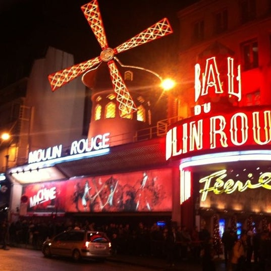 Photo taken at Moulin Rouge by Antonio P. on 1/3/2013