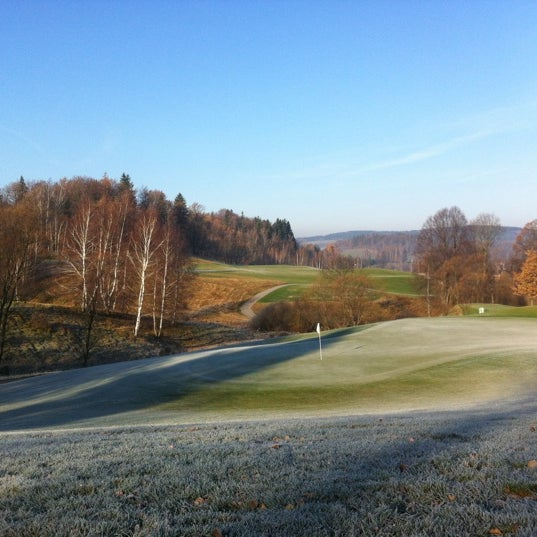 Photo taken at Ypsilon Golf Resort Liberec by Jan R. on 11/14/2012