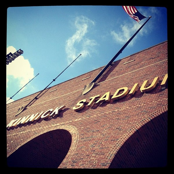 Photo taken at Kinnick Stadium by Drue W. on 11/23/2012