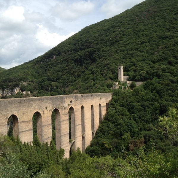 Photo taken at Ponte Delle Torri by Peraux B. on 7/31/2014