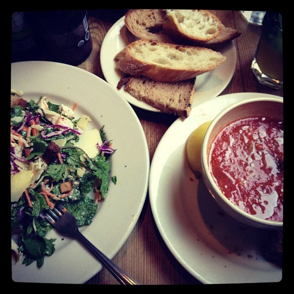 Photo taken at Le Pain Quotidien by bernardo m. on 10/5/2012