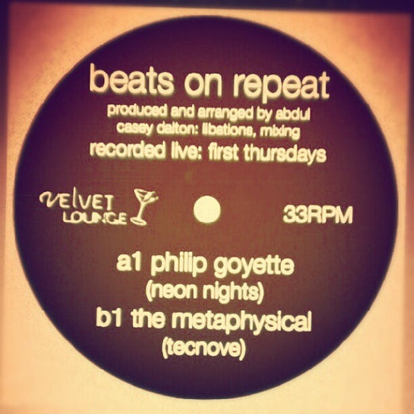 Photo taken at Velvet Lounge by Philip G. on 10/5/2012
