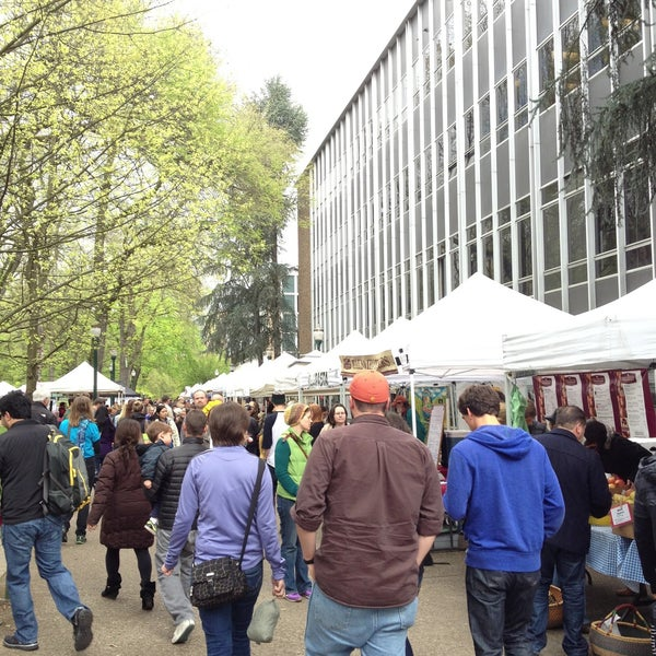 Photo taken at Portland Farmer's Market at PSU by AdrienneRose G. on 4/20/2013