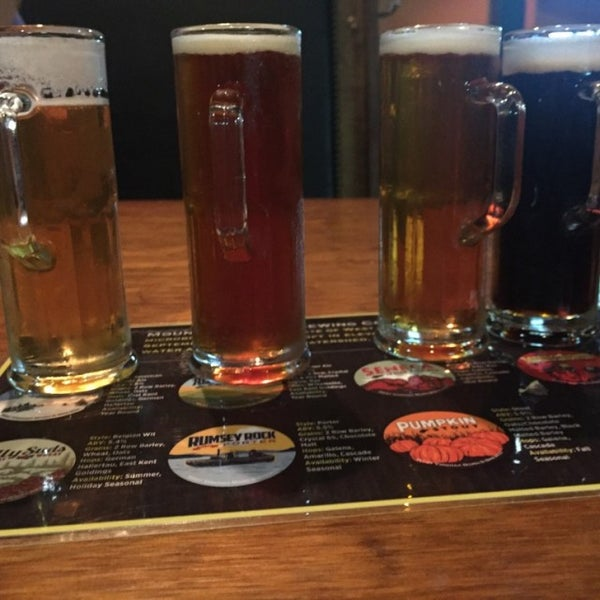 Photo taken at Mountain State Brewing Co. by Ej S. on 8/11/2016