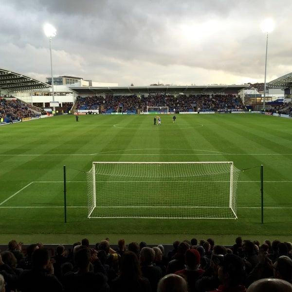 Photo taken at The Proact Stadium by Darren S. on 11/22/2014