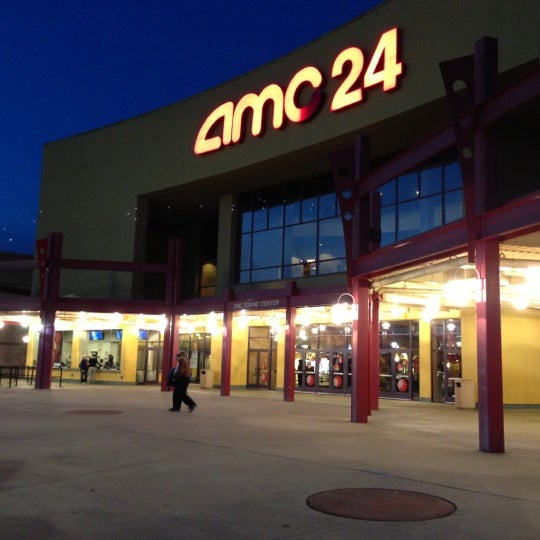 Photo taken at AMC Hampton Towne Centre 24 by Samantha D. on 12/5/2012