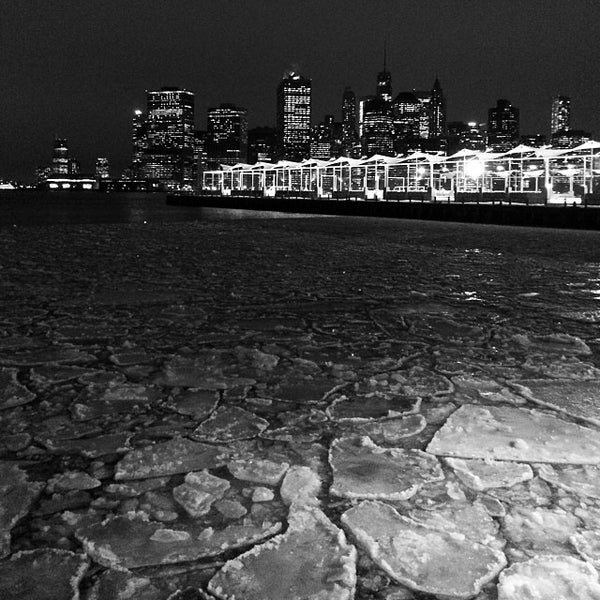 Photo taken at Brooklyn Bridge Park - Pier 6 by Patrick D. on 1/29/2014