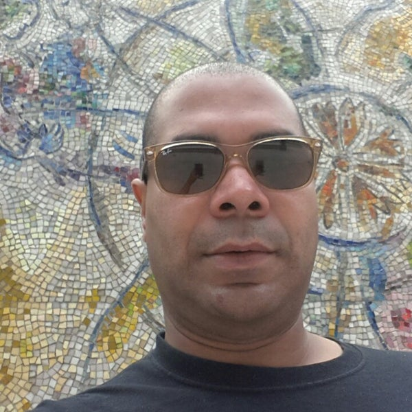 "Photo taken at Chagall Mosaic, ""The Four Seasons"" by Harold P. on 7/25/2014"