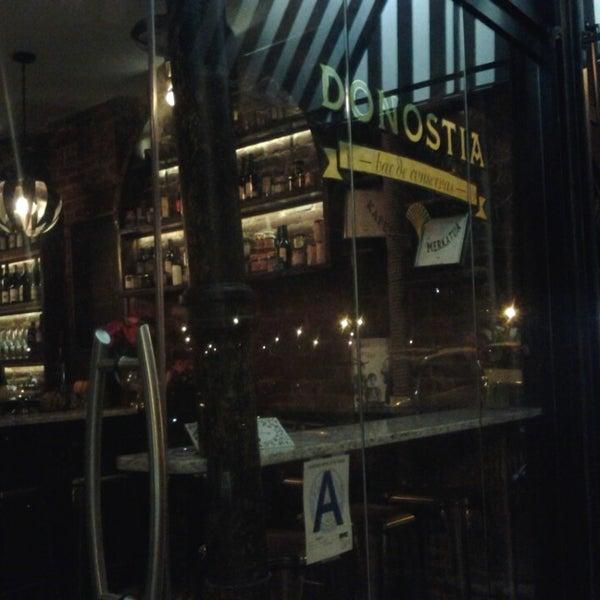 Photo taken at Donostia by Daniel A. on 1/24/2014