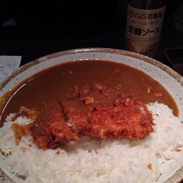 Photo taken at CoCo壱番屋 渋谷区宇田川町店 by Tancy T. on 3/27/2014