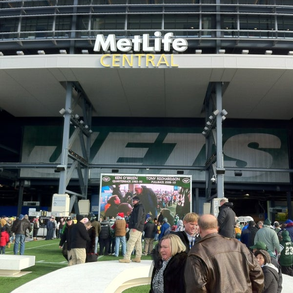 Photo taken at MetLife Stadium by Carlos N. on 12/23/2012