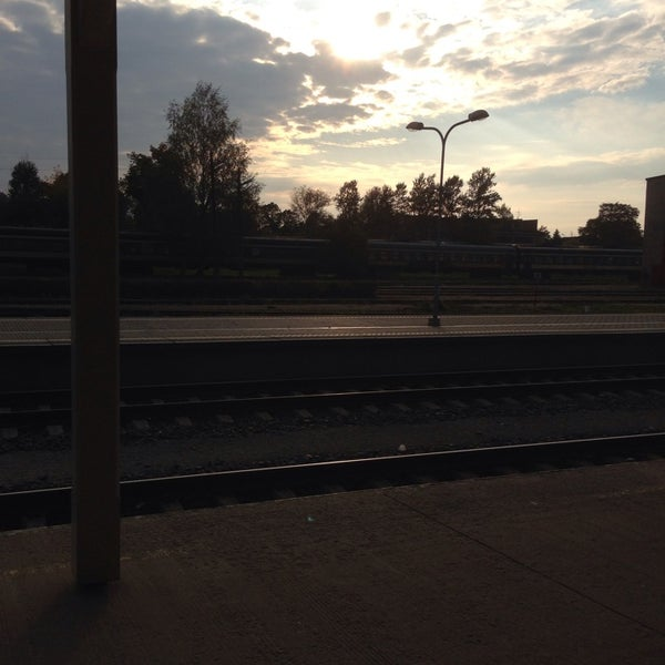 Photo taken at Tartu Raudteejaam by Kaur V. on 9/11/2014