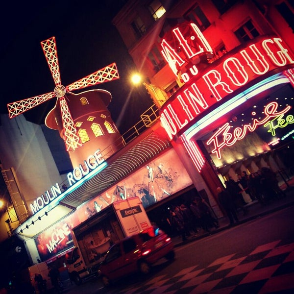 Photo taken at Moulin Rouge by Olga K. on 1/2/2013