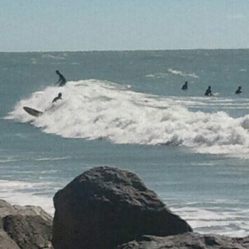 Photo taken at South Jetty / Humphris Park by jonas on 2/17/2013