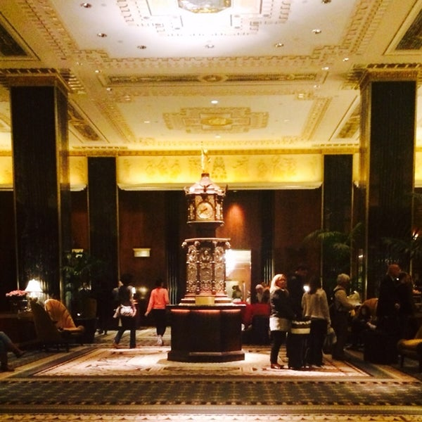 Photo taken at Waldorf Astoria New York by Amelia K. on 4/10/2014