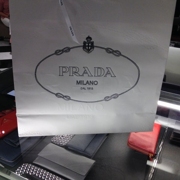 Photo taken at Prada by Prang A. on 10/26/2013