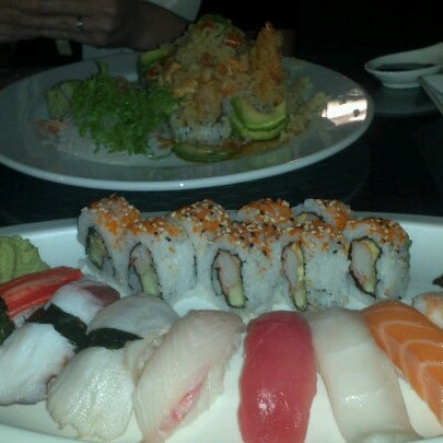 Photo taken at Sushi Thai Too by Ted Y. on 11/10/2012