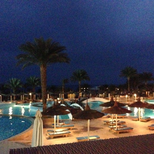 Photo taken at Albatros Palace Resort & Spa by Polinario S. on 1/25/2013