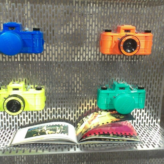 Photo taken at Lomography Gallery Store Austin by Michael C. on 3/6/2013