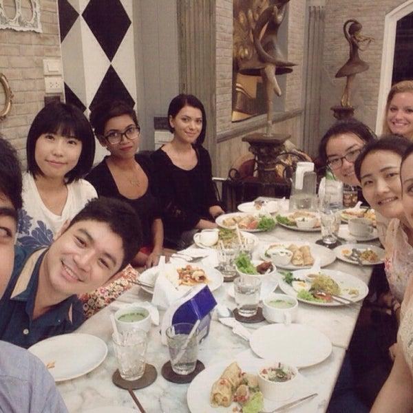 Photo taken at brown sugar cafe by Jin F. on 8/19/2015