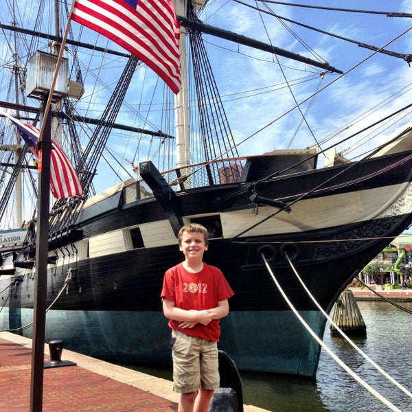 Photo taken at USS Constellation by Eric M. on 7/21/2013