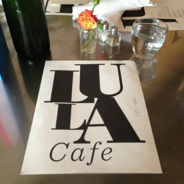 Photo taken at Lula Cafe by Mandy B. on 1/12/2013
