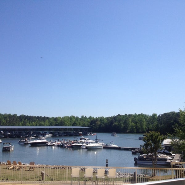 Photo taken at Fish Tales Lakeside Grille by Bill N. on 5/4/2014