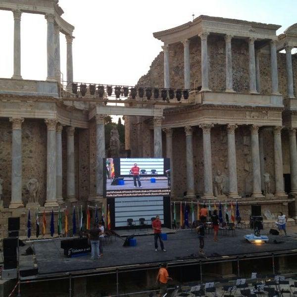 Photo taken at Anfiteatro Romano by genial p. on 9/6/2013