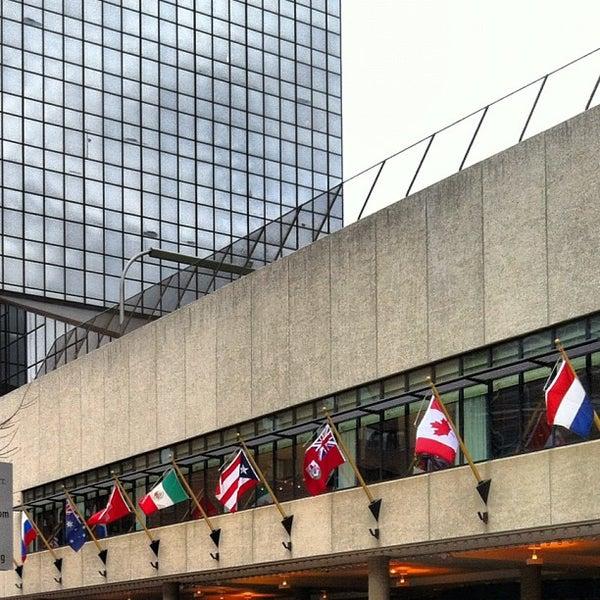 Photo taken at Amway Grand Plaza Hotel by Jonathan F. J. on 11/6/2012