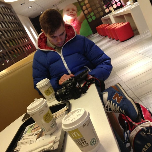 Photo taken at McDonald's by Alexandra N. on 1/6/2013