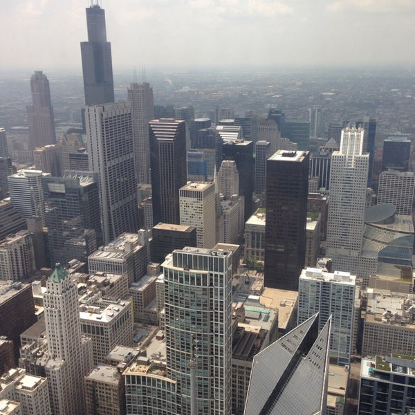 Photo taken at Aon Center by Bret D. on 8/4/2014