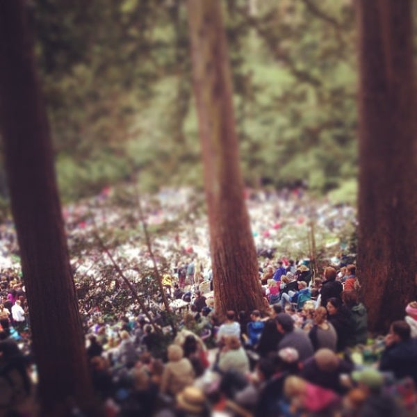 Photo taken at Sigmund Stern Grove by Joshua N. on 8/11/2013