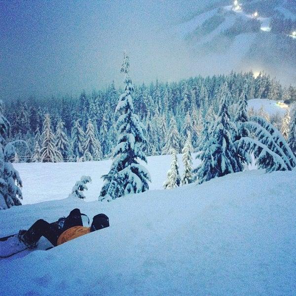 Photo taken at Cypress Mountain Ski Area by Jenn C. on 1/28/2013