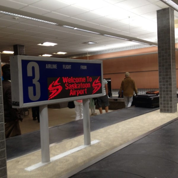 Photo taken at Saskatoon John G. Diefenbaker International Airport (YXE) by Rebecca P. on 6/13/2013