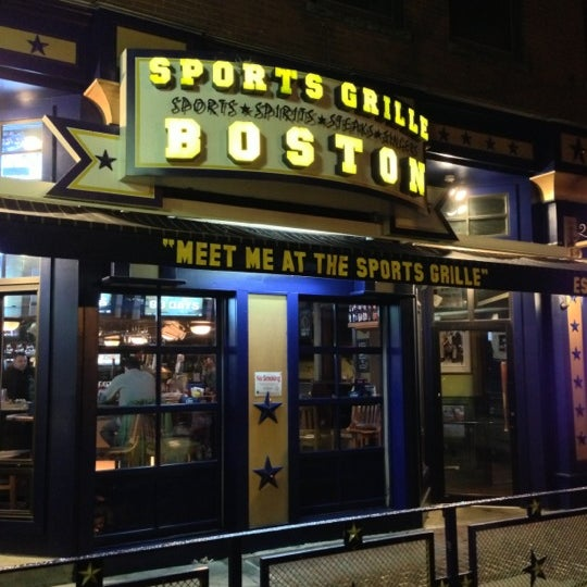 sports grille boston downtown boston 132 canal st. Black Bedroom Furniture Sets. Home Design Ideas