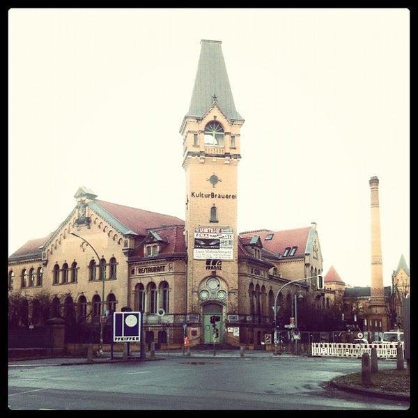 Photo taken at Kulturbrauerei by Bert S. on 11/30/2012