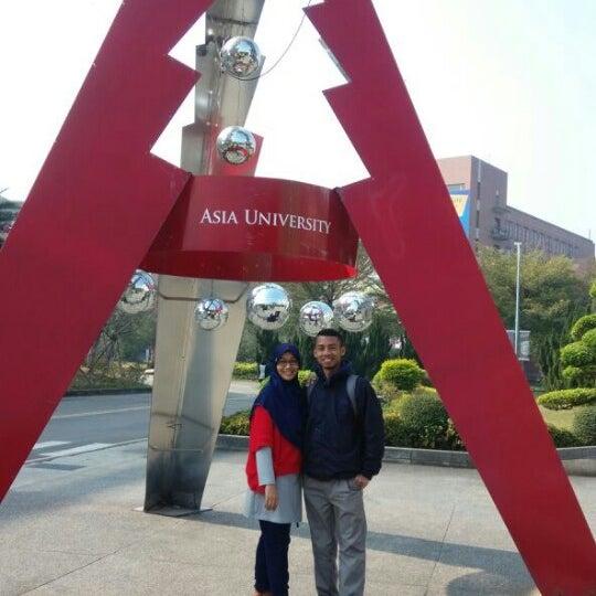 Photo taken at 亞洲大學 | Asia University by khairul u. on 1/3/2015